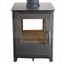SMP1360 Mendip Loxton 8 SE Double Sided Stove, Black