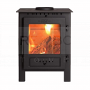 SES1000 Esse 1 SE Woodburning Stove, 4.9kW, Matt Black