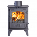 SHU1158 Hunter Hawk 4D Double Sided, Double Depth MF Stove, Traditional Door