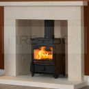 SFL1210 Fireline FX5 5KW Multifuel Stove with Curved Door