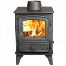 SHU1136 Hunter Hawk 4 Double Sided, Single Depth MF Stove, Traditional Door