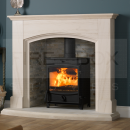 SFL1220 Fireline FX5W 5KW Extra Wide Multifuel Stove with Curved Door