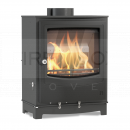 SAA8005 Arada Farringdon Small, Black, 4.9kW Wood Burning Stove