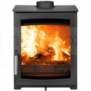 SPR1424 Parkray Aspect 5 Wood Stove, Stainless Steel Handle, Standard Glass