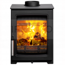 SPR1404 Parkray Aspect 4 Wood Stove, Stainless Steel Handle, Standard Glass